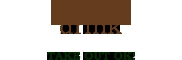 drink TAKE OUT OK!